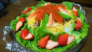 デコレーション寿司1